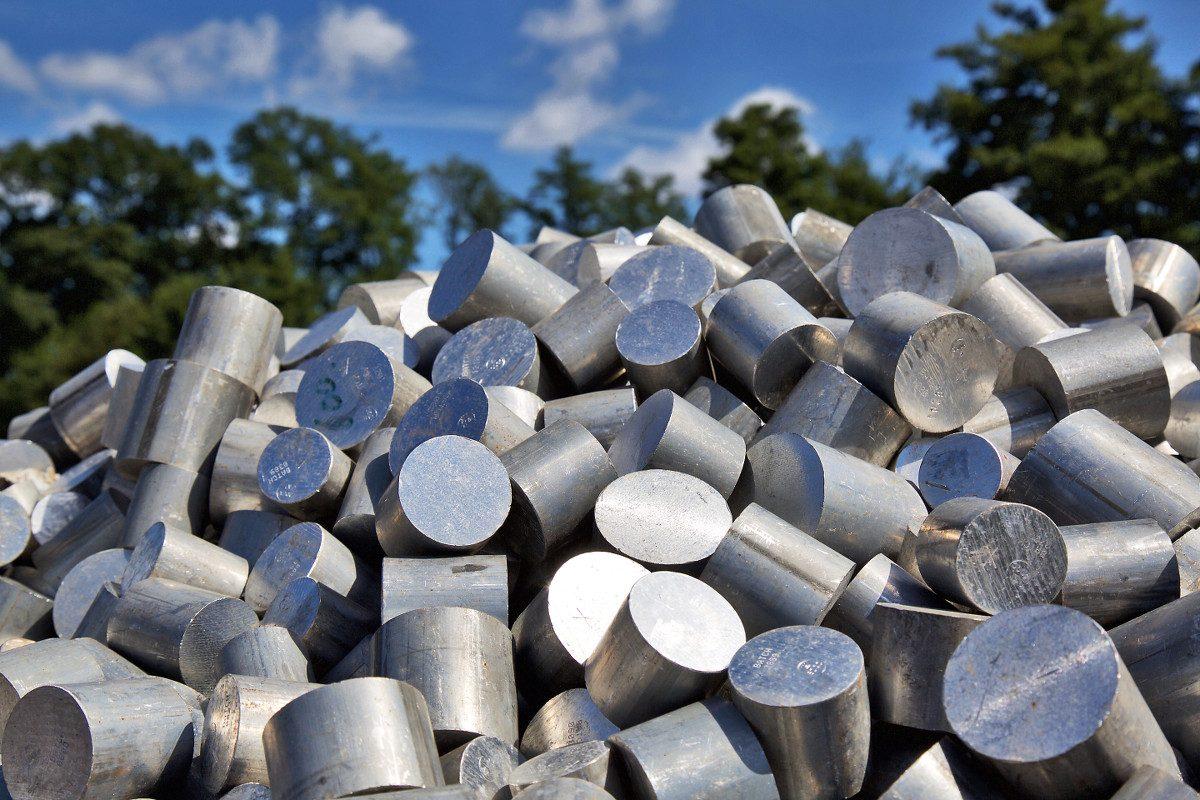 NE-Metallhandel – Alu Zylinder